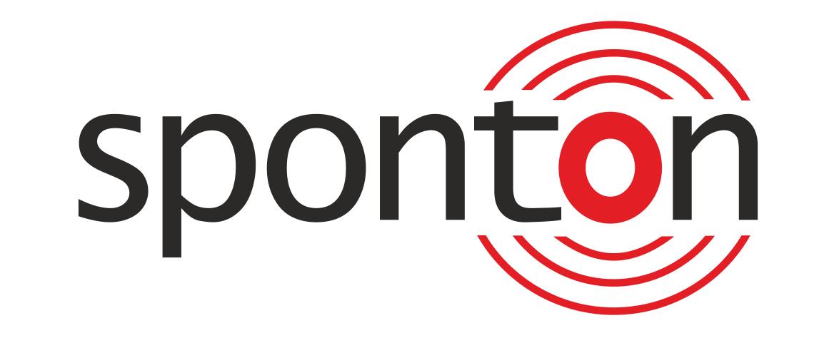 Logo Sponton Medien- und Veranstaltungstechnik, Beschallungstechnik, www.sponton.de